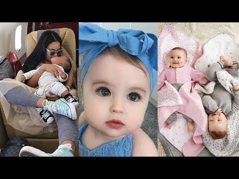 اجمل ملابس اطفال مواليد ملابس مواليد بنات 2019 Baby Face Youtube Face
