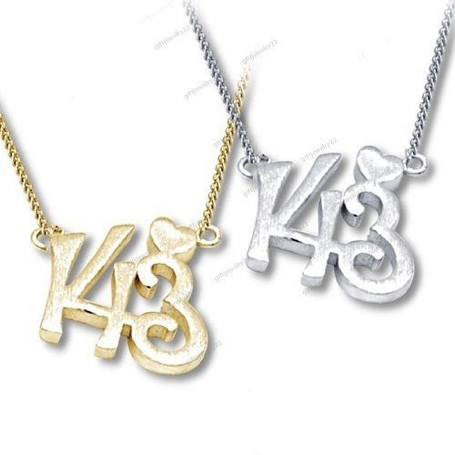 New Fashion Elegant 14k Gold Plated 143 I Love You Charm Pendant With Free Pouch…