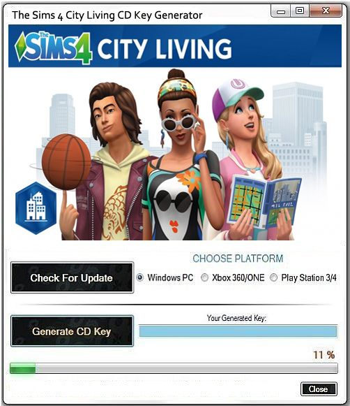 the sims 4 city living free download mac