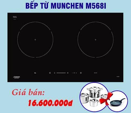 Những con số ấn tượng trên bếp từ Munchen M568I