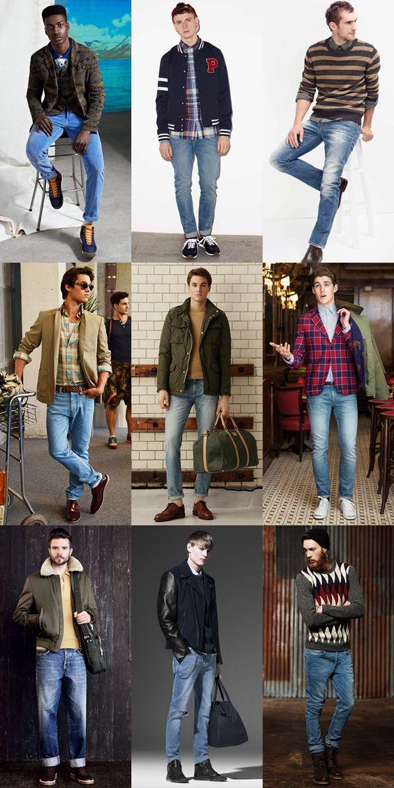 light wash jeans outfit men wwwpixsharkcom images