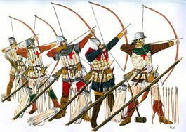 Longbow Archers History Of The Battle Of Agincourt