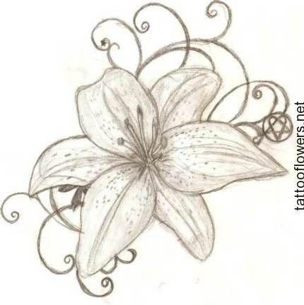 Tiger Lily Tattoo Designs...