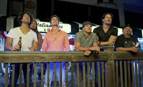 Pin for Later: Over 40 New Magic Mike XXL Pictures Will Stun You Into Submission  The boys (Adam Rodriguez, Matt Bomer, Channing Tatum, Joe Manganiello, and Gabriel Iglesias) are back!