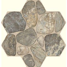 FLOORS 2000 5-Pack 18-in x 18-in Teras Grey Glazed Porcelain Floor Tile