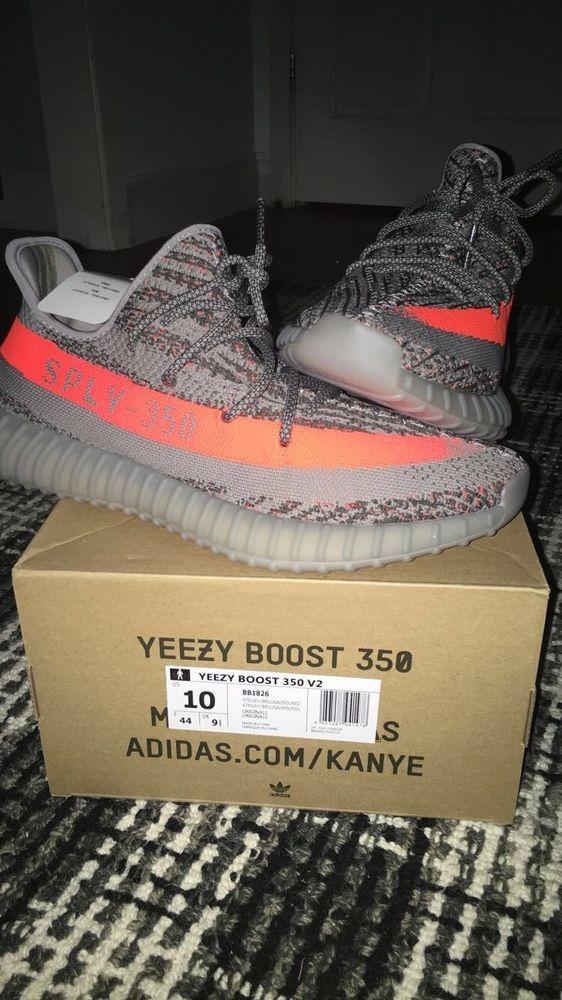 Yeezy Boost 350 V2 Beluga Shoes, Size