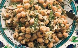 Chickpea Salad with Lemon, Parmesan, and Fresh Herbs / Elinor Carucci