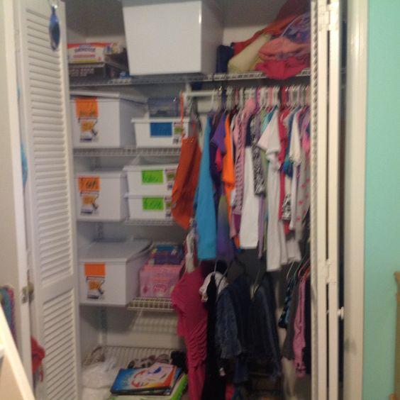 Sophie's closet