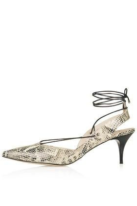 JUPITER Mid-Heel Ghillie Shoes  #midheels #covetme