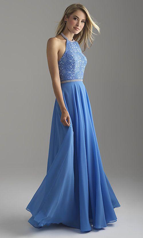 21+ Chiffon prom dress with lace bodice inspirations