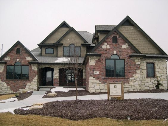Brick and shingle siding brick or stone appearance - Pros and cons of painting exterior brick ...