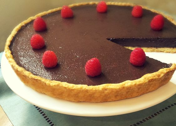 Chocolate Tart Rich, delicious, creamy .. Wow! Very easy and chocolatey! so, it's the best treat for chocolate lover. Please, use a good chocolate. I like to add some whipped cream on top and serve with fresh raspberry