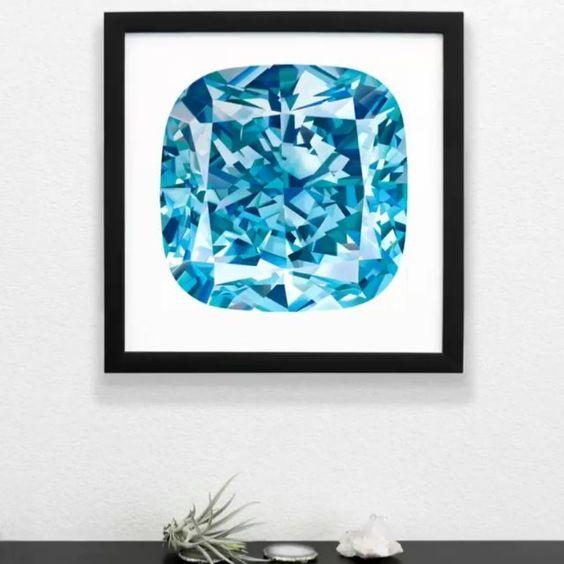 Diamonds and Art... @angie_crabtree you make our day!!! 💎 ⠀  #AngieCrabtree #DiamondPainter #Diamond #DiamondDecor #Diamonds #PreciousGems…