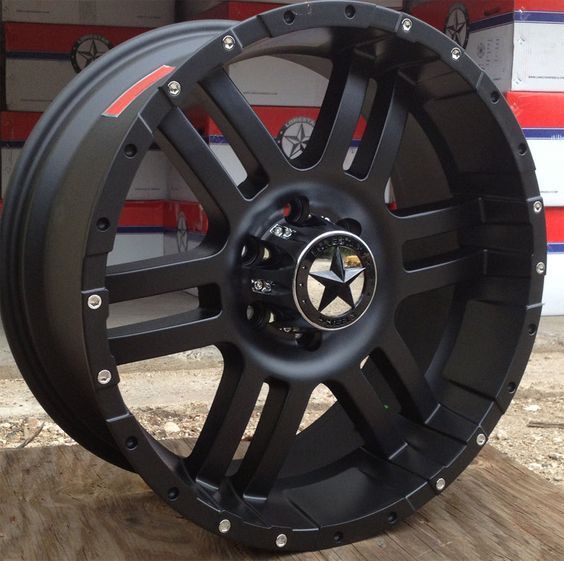 lonestar matte black wheels 20 inch ford f150 truck 20 rims 6x135 the great outdoors. Black Bedroom Furniture Sets. Home Design Ideas