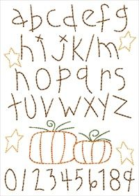hand embroidery fonts free   Embroidery Designs, Embroidery Thread ...