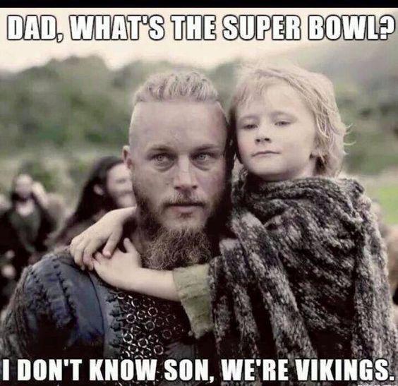 Bwahahaha.....sorry Vike family members. 'Tis true
