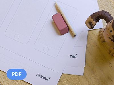 Some useful prototype paper for sketching