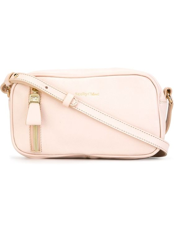 See by Chloé Harriet crossbody bag in Pink
