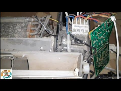 كيف تتغير سرعات مروحة السبلت مع البورد وماهي اعطالها Fan Air Conditioner Probleme Youtube Home Decor Sink Bathtub