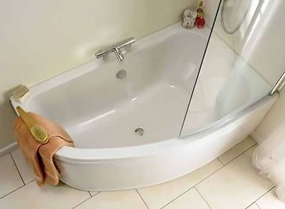 small corner bath with shower screen google search ideal standard create idealform offset corner bath 1600 x