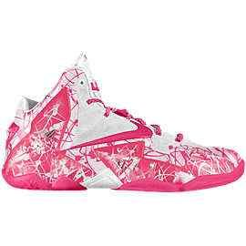 designer fashion 4de85 1b9c8 With that said, the Nike Lebron 9 model is the sneaker that will Lebron  James Pink Breast Cancer Shoes ...