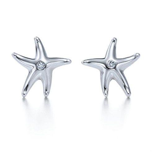 Tiffany Elsa Peretti Starfish Earrings