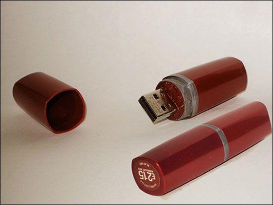Amei o design deste pen drive!