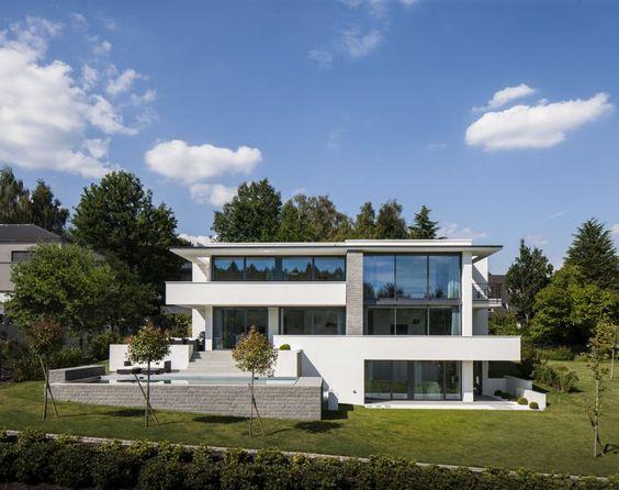 architektur wohnhaus fuchs und wacker ~ kreative deko-ideen und, Modern Dekoo