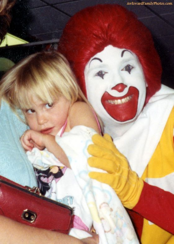 ronald mcget the hell away from me!  HA!!