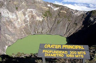 Crater principal