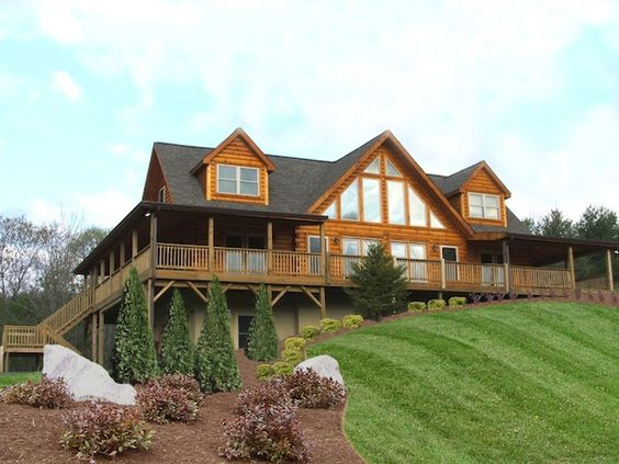 Log Home Floor Plans A Hill And Blue Ridge Log Cabins On