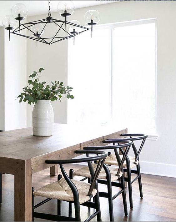 Minimalistic Dining Room