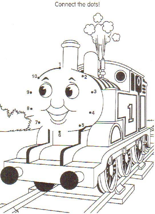 Thomas Gif 543 750 Thomas Train Birthday Disney Coloring Pages Train Birthday