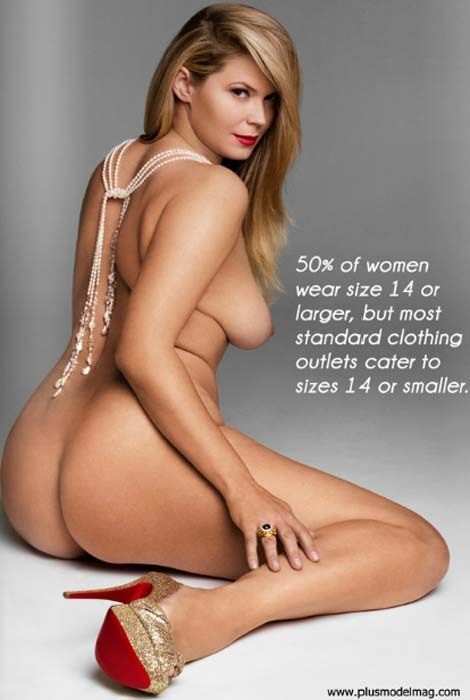 50% of women wear size 14 or larger