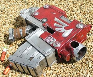 Go to war with these Warhammer Nerf Guns - available in both pistol and rifle form. These Warhammer fire arms are fully functional hand painted modified Nerf...