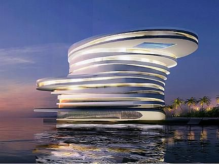 Leesers architects - Helix Hotel