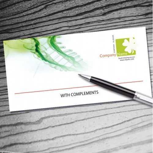 Compliment Slip Design  Bing Images  Business Compliment Slips