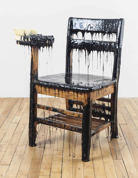 Theaster Gates (b. 1973) | Work Chair | Sculptures, Statues & Figures, United States of America | Christie's