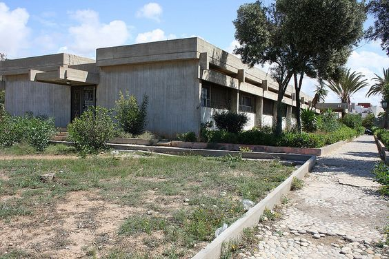 Post-Corbusian Architecture in Agadir/Morocco: Delegation de la Sante 1968-69 by Elie Azagury (1918-2009)