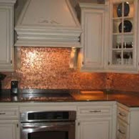 Penny backsplash penny art pinterest penny for Kitchen penny backsplash