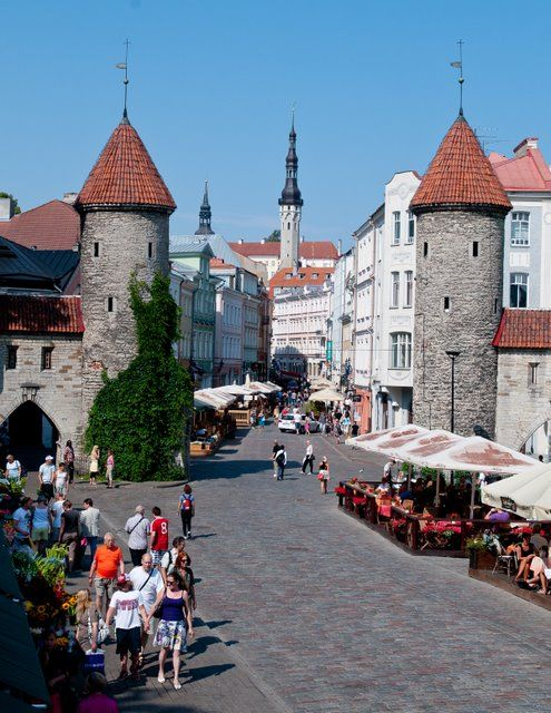 Tallinn, Estonia ~ oh look at those buildings!: