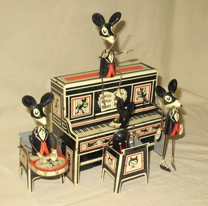 Tin Toy ~ Mouse Orchestra!