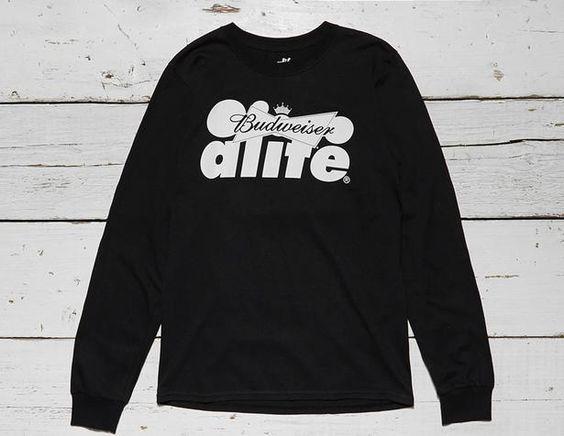 ALIFE x Budweiser Lockup Long Sleeve T-Shirt