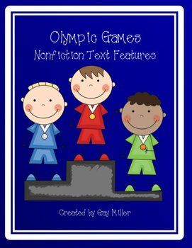 Olympic Games Nonfiction Text Features