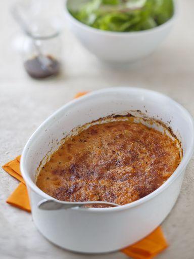 muscade, poivre, parmesan râpé, beurre, potimarron, crème fraîche épaisse, sel