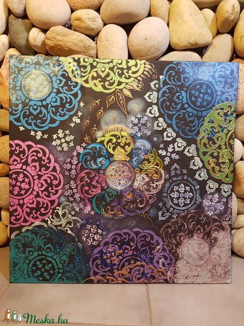 Mandala festmények