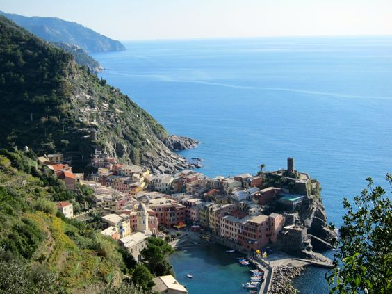 Vernazza, Cinque Terre: Standing Proud
