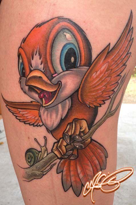 passaro cartoon tattoo - Pesquisa Google | Tattoo ...