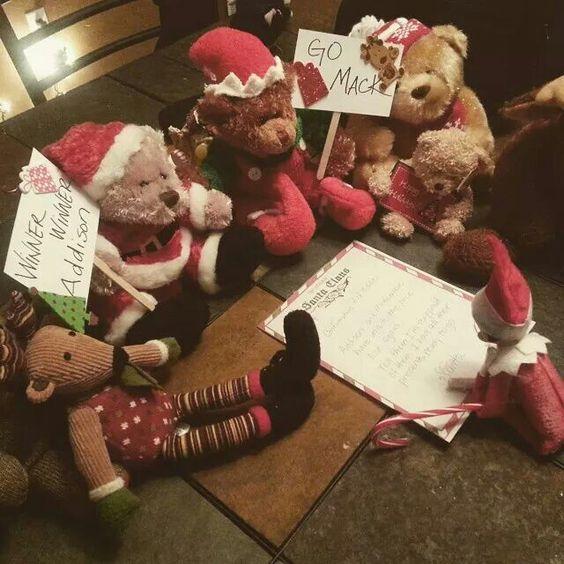 Elf checking the nice list 2014