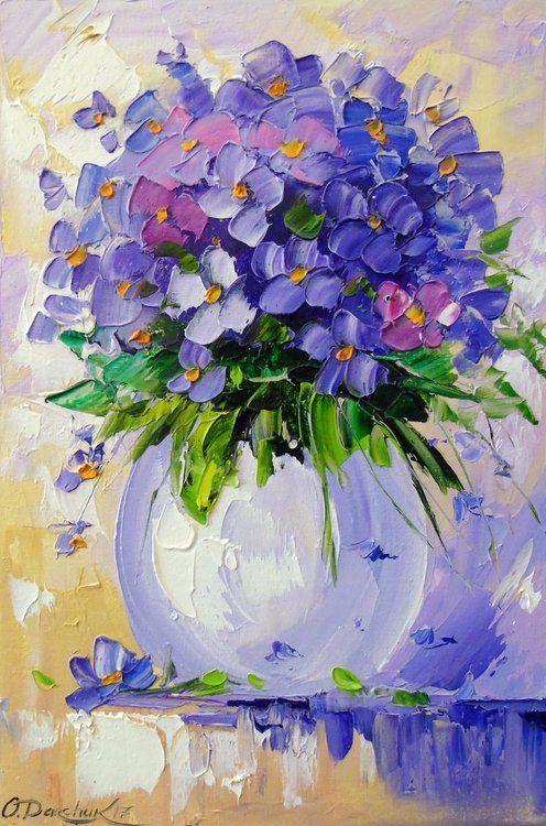 Oil Paintings Flowers Paintings Flowers Olgemalde Blumen Peintures A L Blumen Flowers Olgemalde Paintings Peintures Oilpaintings 2020 Soyut